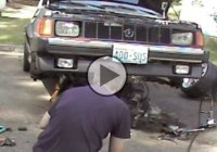 Engine removal fail! How NOT to remove your engine!