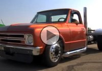 Fast and Furious truck – a 1967 Chevy with massive rear tires!