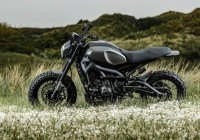Custom Yamaha XSR900 – luxurious ride with brutish nature!