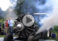 Russischer Sternmotor – Russian Radial Engine Start and Run!