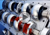 Coates Engine – How a Coates Overhead Spherical Valve Engine Works!