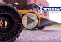 Michelin X-Tweel –  Airless Radial Tire For Skid Steer Loaders!