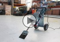 Makinex Jackhammer Trolley – Fastest Way To Remove Floor Tiles!
