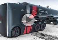 Futuristic Audi Semi Trucks – The Future Of Big Rigs!