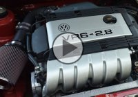 "The VR6 Engine – a Combination Of a ""V"" Style Engine And An Inline Engine!"