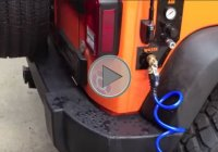 This Can Come In Handy – Pressurized Running Water on Jeep Wrangler JK!