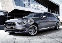 2017 Genesis G90 – Hyundai's first Genesis-branded luxury ride!