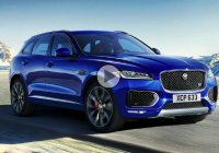 2017 Jaguar F-Pace proves that crossovers can be awesome!