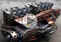 Supercharged Homemade Straight Eight Engine by Desperate Dan!