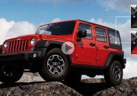 Jeep Wrangler Diesel tackles the muddy Gold Mine Hill!