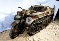 Kettenkrad – the tracked motorcycle that tackles all terrains