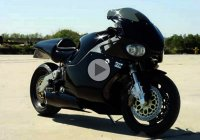 Y2K motorcycle with turboshaft engine-It's a bike but also a jet!
