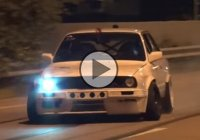 BMW drift – an epic V8 swap with Precision turbo!