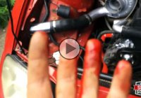 Unforgiving Supra's turbo cuts a man's middle finger!