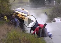 Rally crash video from an accident at Aosta Valley, Italy!