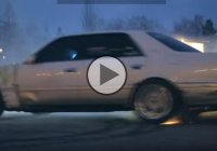 Russian drifting in the streets – skilled adrenaline junkies!