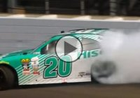 Tire blowout at 200mph, but Erik Jones takes ownership!