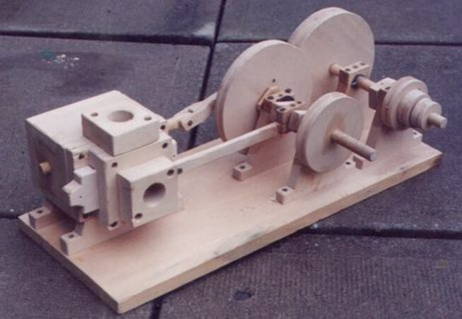 Wooden Engine