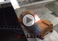 P-Laser QF-1000 – High power laser cleaning for rust and paint removal!
