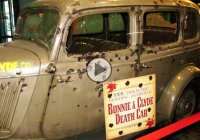 Bonnie and Clyde car – The blood-soaked death car still creates quite a stir
