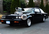 Buick GNX doing a burnout with its monstrous 1200 HP