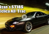 Celica All Trac –  Going crazy on the dyno is this ST185's thing