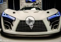 Felino CB7 is the world's brand new carbon fiber supercar!
