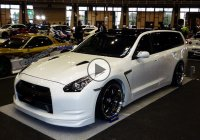 GTR Wagon spotted – It's a cool, mean-looking piece of machinery!