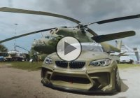 HGK BMW F22 Eurofighter drifting – 820 pure horsepower!