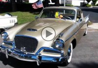 Studebaker Golden Hawk gracing the America's highways