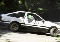 Initial D replica – Toyota Sprinter Trueno AE86 drifting in Japan!