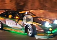 Osaka touge drift by night – full of adrenaline and suspense!