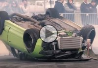 A roll cage can literally save your life – like in this drift crash!