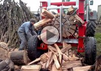 Wood Splitter Compilation – Just a Few Ways To Prepare For Winter!
