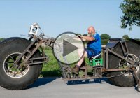 Behemoth Bike – German Guy Builds The Heaviest Bicycle In The World!