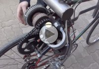 Homemade Open Crank Motor On A Bicycle – How About That?