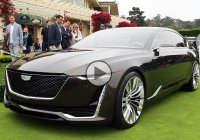Cadillac Escala – Cadillac's new face blends comfort and luxury