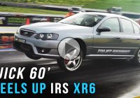 Ford XR6 turbo makes for a noisy, smokey and notorious run