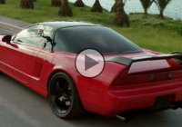 Honda Acura NSX, supercharged beast that's making 740HP!