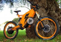 Fastest electric bike – The Stealth electric bike can tackle any terrain!