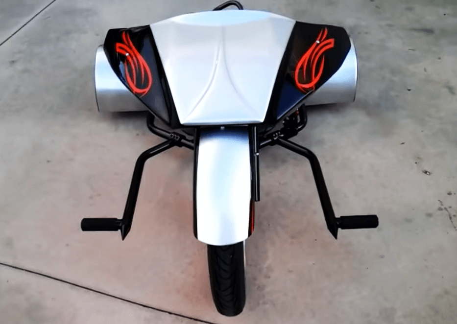 Gas Powered Drift Trike