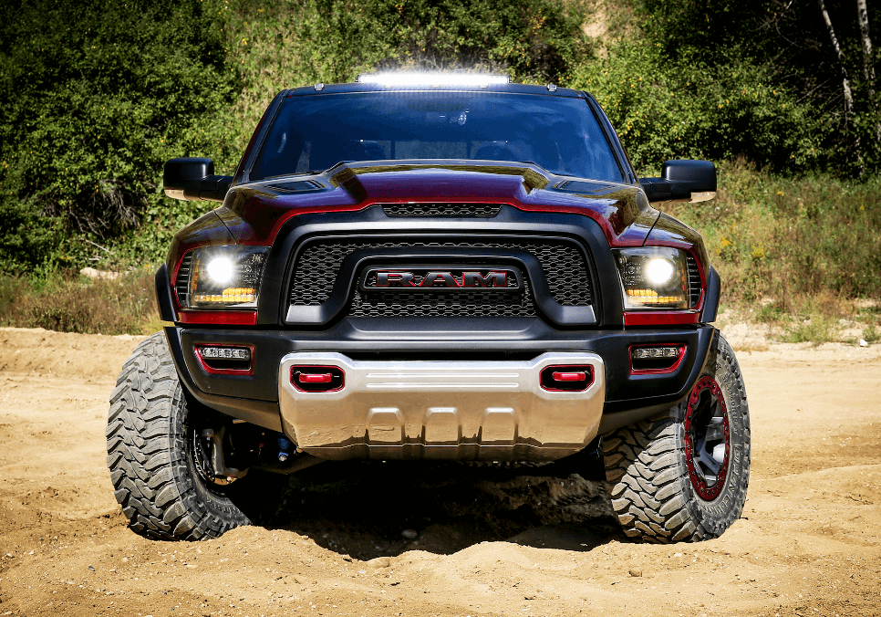 Awesome Hellcat Powered Ram Rebel TRX Is An Offroadready Beast