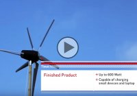 Homemade wind turbine – Why buy it when you can do it yourself?