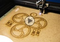 Laser engraving machine will etch and design anything you wish