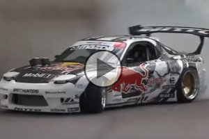 Mad Mike's Red Bull RX7