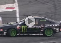 Nissan 200SX S13 drifting at the Monza Rally Show in Italy!