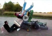 Riding lawn mower – It's not as safe as it looks like!