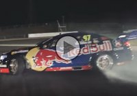 Shane van Gisbergen drifting a custom VF Holden Commodore Supercar!