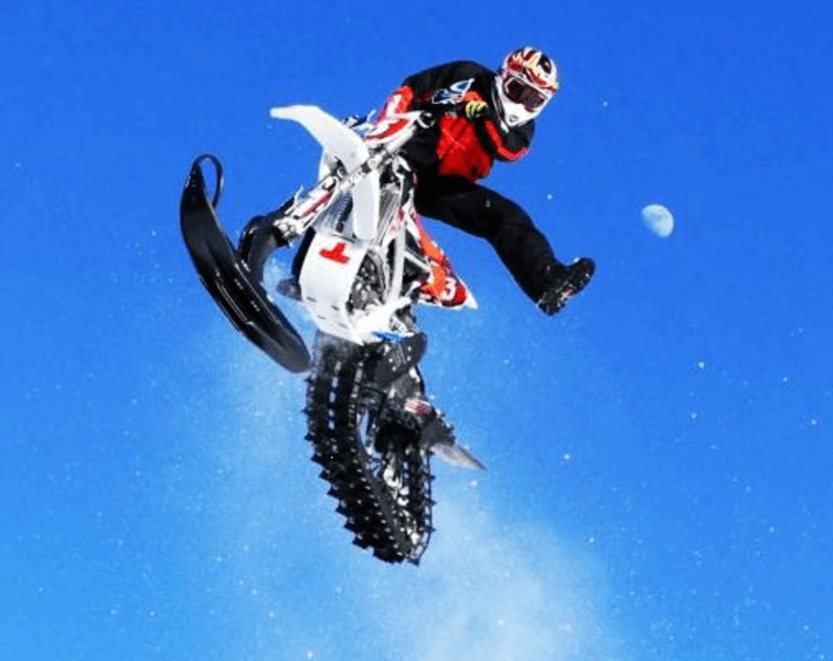 Snow dirt bike