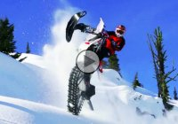 Snow dirt bike riding – one of the coolest up-and-coming sports out there!